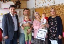 Photo of Başkan Sağır'dan Hoş geldin Bebek Ziyaretleri