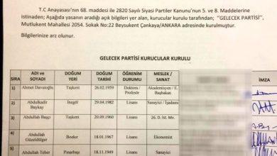 Photo of SELAHATTİN KAYAMAN Davutoğlu'nun Kurucular Kurulu listesinde