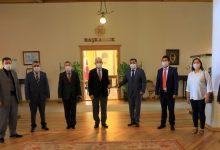 Photo of Başkan Gürün'e Pandemi Teşekkürü Ziyareti